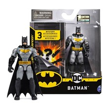 """The Caped Crusader Batman Tactical Suit 4"""" Action Figure w/3 Mystery Accessories - $24.88"""
