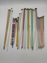 Lot of 16 Pairs Unbranded Knitting Needles Various Sizes - $14.99