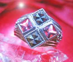 CALL TO ARMS HAUNTED RING HIGH PROTECT BANISH OOAK OFFER ONLY MAGICK 7 S... - $89,007.77