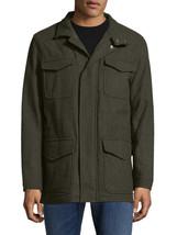 Brooks Brothers Mens Green Wool Notch Field Coat Jacket Sz 2XL XXL 7138-1 - $285.10