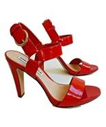 NEW KARL LAGERFELD PARIS CIEONE Red Heels Pumps Size US 7.5M /EURO 38B - $55.43