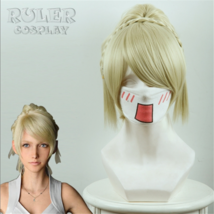 Final Fantasy XV FF 15 Lunafreya Nox Fleuret Cosplay Hair Wig - $29.45