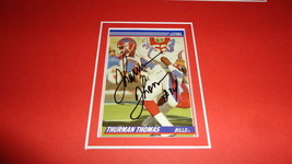 Thurman Thomas Signed Framed 11x17 Photo Display Oklahoma State Bills C - $65.09