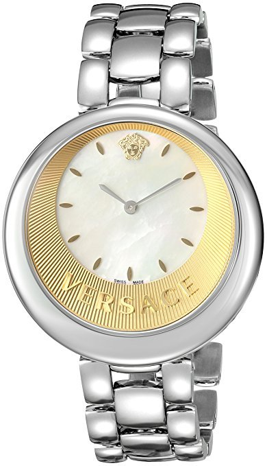 Versace VAQ070016 Perpetuelle Stainless Steel Mop Ladies Watch