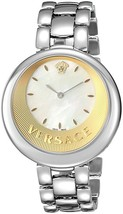 Versace VAQ070016 Perpetuelle Stainless Steel Mop Ladies Watch - $2,588.32