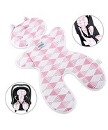 Luchild Baby Head Support Pillow Breathable 3D Mesh Cool Seat Mat Cushio... - $21.99