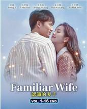 KOREAN DRAMA Familiar Wife 1-16End English subtitle Ship out from USA