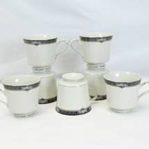 Mikasa Gothic Rose Cups Lot of 7 - $35.27