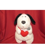 "VTG 1988 HEARTLINE MOOCH A SMOOCH MUTT STUFFED PLUSH DOG PUPPY 12"" KISS ... - $39.59"