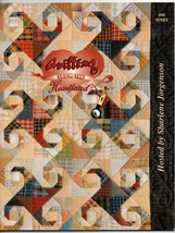 1995/Quilting From The Heartland/Hosted by Sharlene Jorgenson/Craft BOOK - $4.50