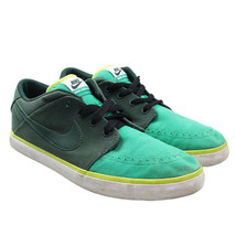 NIKE Suketo Mens Size 10 Green Canvas Low Top Sneakers 511847 301 - $24.74