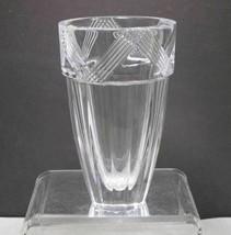 Signed Orrefors Swedish Vase - $36.47