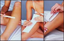 Parissa Epilation Waxing Non-Woven Cloth Strips, Replacement Strips for use with image 3