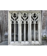 Francés Estilo Arquitectónico Gótico Iglesia Calidad Piedra Ventana Arco Pared - $977.60