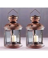 6 Star Lantern Copper Tone Candleholder Wedding Centerpieces - New