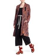 Free People Half Moon Duster Kimono Medium - $71.27