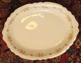 "J. & G. Meakin Platter Antique Porcelain Lavinia Hanely No Chips 1800's 14.5"" - $89.99"