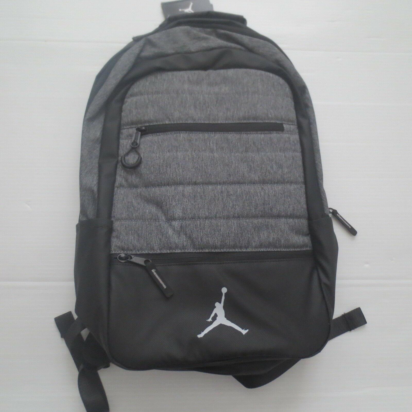 Nike Jordan Airborne Backpack - 9A1944 - Gray - NWT