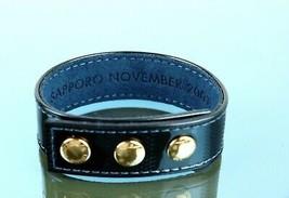 Louis Vuitton Patent Leather Bracelet Sapporo November 2001 Navy Vintage Good - $177.21