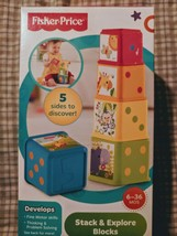 Fisher-Price Stack and Explore Blocks - $7.50