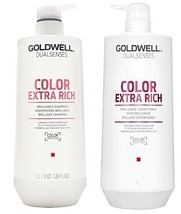 Goldwell Dualsenses - Color Extra Rich Shampoo Conditioner Duo 1 Liter Each