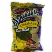 24 Pack of Butterkist Snackables Crackers: Cheddar - $35.64