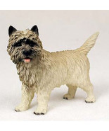 CAIRN TERRIER (RED) DOG Figurine Statue Hand Painted Resin Gift Pet Lovers - $19.99