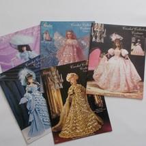 Paradise Publications Pattern Book Lot Crochet Historical Doll Fashions - $39.59