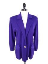 St John Boutiques Women Size 8 Jacket Blazer Evening Santana Knit Notch ... - $119.99