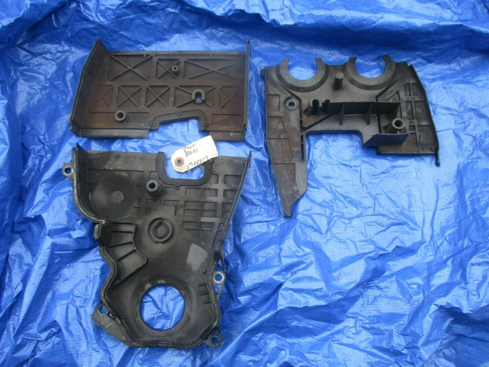 99-00 Honda Civic SIR B16A2 upper and lower timing cover set engine motor PR3