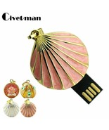 Civetman® Pendrive 4GB 8GB 16GB 32GB 64GB Crystal Seashell USB 2.0 Flash - $7.35+