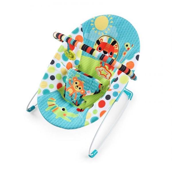 Bright Starts Kaliedoscope Safari Vibrating Baby Bouncer - $118.79