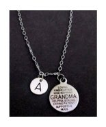 Grandma Necklace, Grandma Quote Necklace, Grandma gift, Personalized Gra... - $14.50
