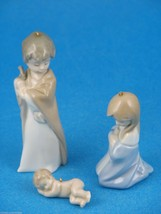 Miniature Holy Family Christmas Ornaments Made by Lladro #5657 LNIB - £34.33 GBP