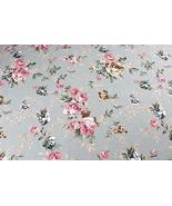 [Rose] 1.5M Wide Handmade Cotton Canvas Stripe Fabric (2x1.5M) - $36.89