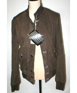 New NWT $1900 Mens M L US 40 Designer 50 Italy Gimo's Suede Leather Jack... - $760.00