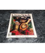 Cross Stitch & County Crafts Magazine November December 1990 Snowy Night - $2.99