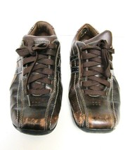 Skechers Talus Ultimatum Leather Lace up Sneakers Shoes 61181 Brown US S... - $29.95