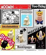 Set of 6 capsules MOOMIN Moomin figure mascot 2 all - $61.00