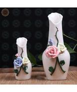 WR Small Vases for Flower Porcelain Vase Set Items for Home Magazines De... - $12.83+