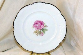 "Hutschenreuther The Belrose Salad  Plate Pattern 8158 EUC 7 5/8"" - $11.08"