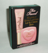 Too Faced Happily Ever Lasting Lip & Cheek Duo Nib - $13.38