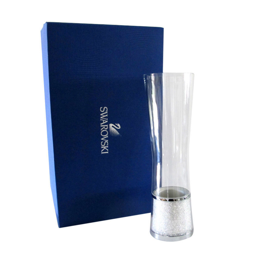 "f42507c10 Swarovski 11"" Crystalline Vase - New in Box and similar items"