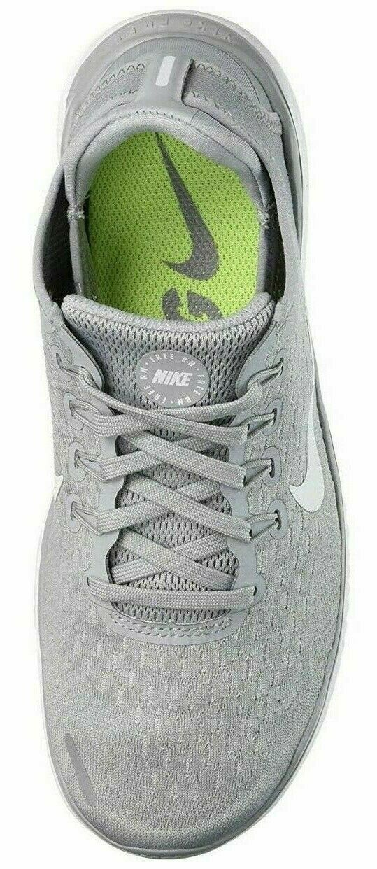 NIKE Free Rn 2018 Women's Running/Training Shoes Wolf Grey/White 942837 003  L