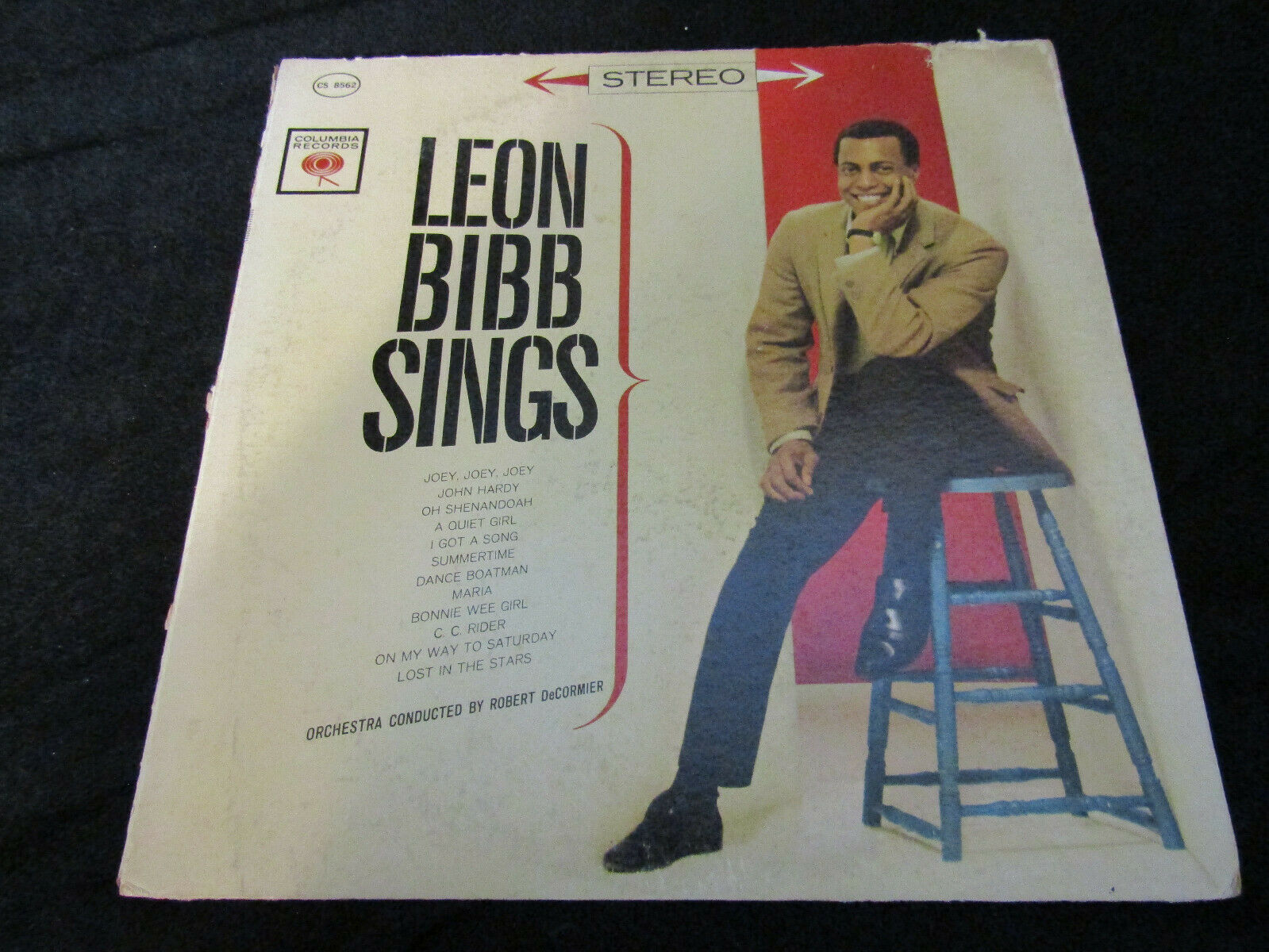 Primary image for Leon Bibb Sings Columbia CS 8562 Stereo Vinyl Record LP Six Eye