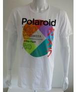 Polaroid Mens Graphic Tee White 100% Cotton Size L - $26.72