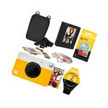 Kodak PRINTOMATIC Instant Print Camera (Yellow) Scrapbook Photo Album Kit - $152.99