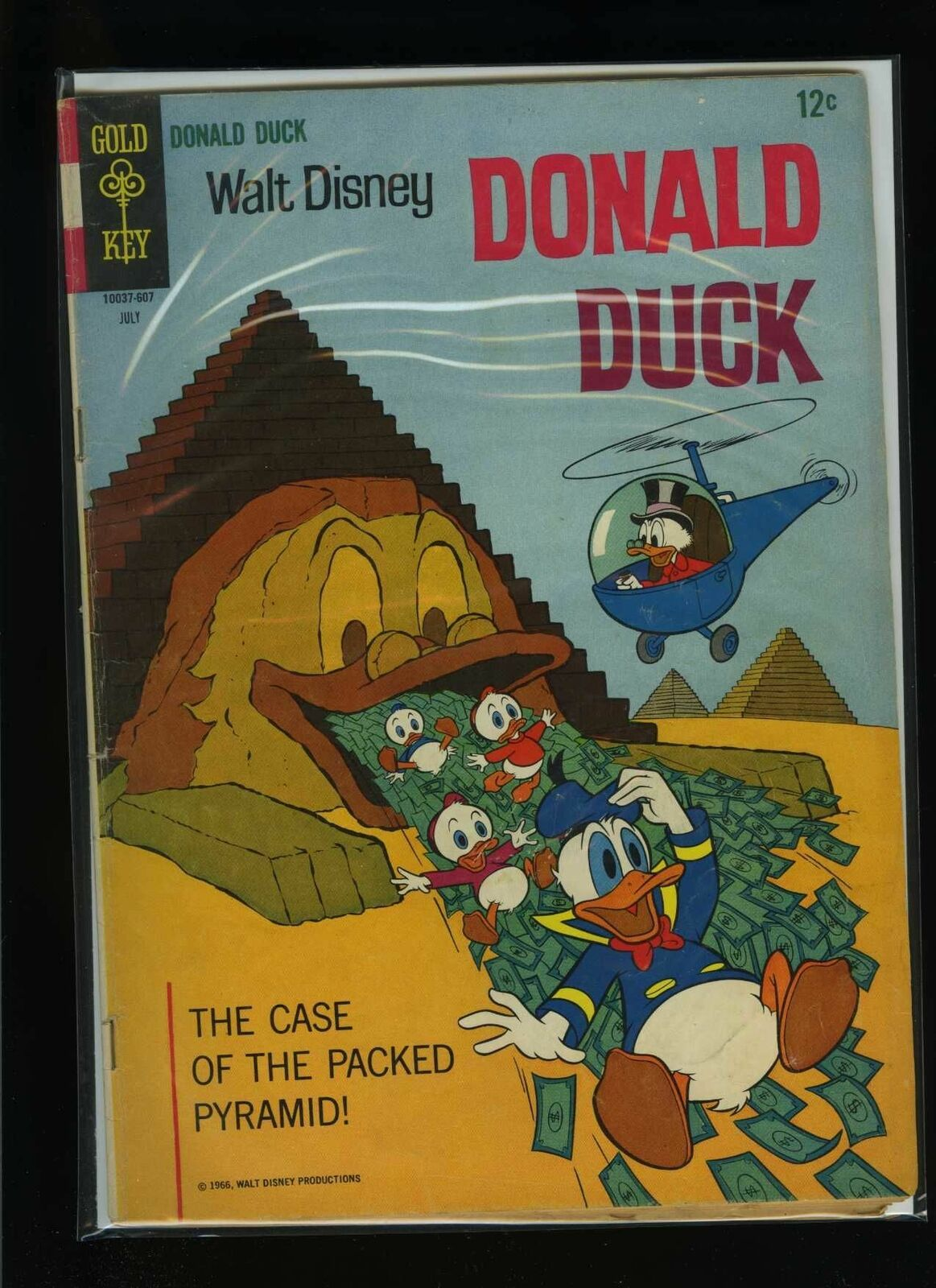 Primary image for Walt Disney's Donald Duck #108 G/VG 1966 Gold Key Comic Book
