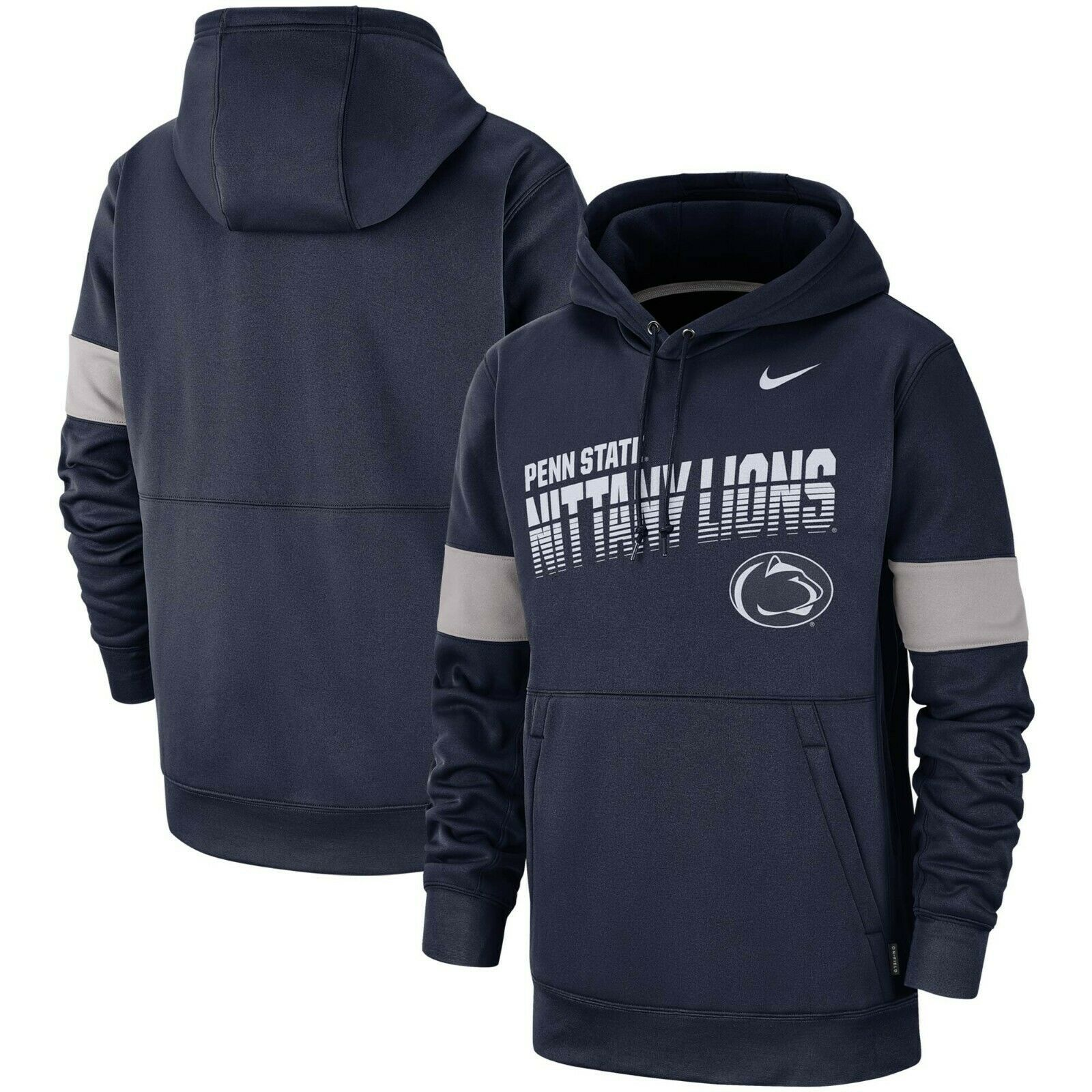 Primary image for Penn State Nittany Lions Mens Nike Sideline Therma-Fit Performance Hoodie - NWT