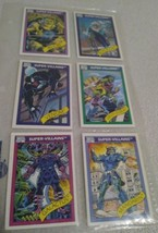 Marvel Comics Super Villains 1990 Impel Marvel Universe Trading Cards # 71 - 76 - $9.99